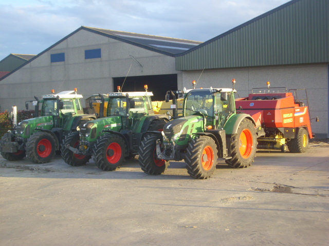 Tracteurs et presses